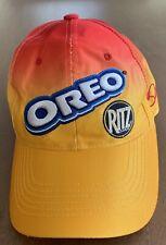 Dale Jr #8 Nascar Hat Oreo Ritz Adjustable Authentic Orange Red