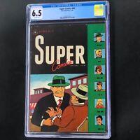 SUPER COMICS #90 💥 CGC 6.5 💥 GOLDEN AGE DICK TRACY Dell 1945 Comic