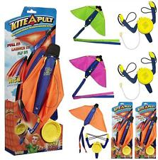 Kite-A-Pult Toy with catapault launcher Pull It Launch It Fly It!! Random Colour