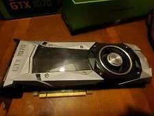 NVDIA GEFORCE GTX1070 8GB BLOWER FE W BOX NICE