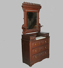 Walnut Victorian Antique Dressers Amp Vanities 1800 1899