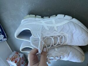 ASICS GEL-QUANTUM 180 WHITE Size Woman 8.5
