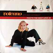 """VOLCANO WITH SAM CARTWRIGHT - That's The Way Love Is (12"""") (G+/G+)"""