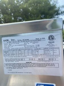 Aaon Trane Carrier R-410A 2 Ton Geothermal / Water Source Heat Pump W Series