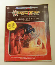 Dragon Lance IN SEARCH OF DRAGONS TSR Advanced Dungeons & Dragons AD&D DLE1 9243