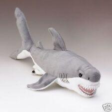 "17"" Great White Shark Plush Stuffed Animal Toy"