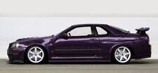 1/18 Nissan Nismo r34 Z Tune Midnight purple Modified te37 umbau tuning otto