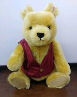 "STEIFF 20"" X-LARGE Walt Disney WINNIE THE POOH 2004 Teddy Bear LTD Ed Growler"