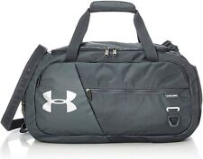 New UA Undeniable Duffel 4.0 Small Duffle Bag, Gray