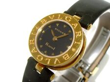 Auth BVLGARI B-zero1 BZ22G/BZ22BGL Black 18K YG Women's Wrist Watch D2148