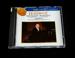 HOROWITZ - BEETHOVEN, SCARLATTI, CHOPIN  - CD, ALBUM
