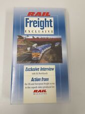 Rail Freight Exclusive VHS Cassette Tape  UK and European Freight trains