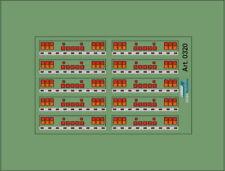 H0/1:87 DIS0320 Stoßstangen Decal•für Auflieger und Zugmaschinen