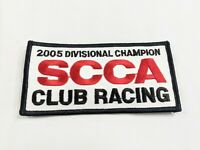 Vintage SCCA Sports Car Club Of America 2005 divisional champion Racing Patch