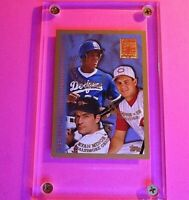 1998 Topps #254 MINTED in COOPERSTOWN ADRIAN BELTRE, Aaron Boone, R Minor Rookie