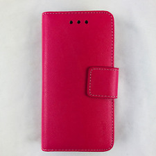 HTC Desire 520 Pink Zebra Wallet ID Card Case Protective cover Magnetic REIKO