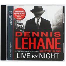 LIVE BY NIGHT Dennis Lehane MP3 CD Audio Book Unabridged 13 hours