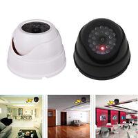 Dummy Fake Imitation Dome Home CCTV Security Surveillance Camera LED Light OU2