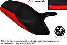 RED & BLACK VINYL CUSTOM FITS BMW K1200RS K 1200 RS DUAL SEAT COVER ONLY