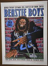 2004 BEASTIE BOYS Justin Hampton Concert Poster Signed Numbered Art Print P/P