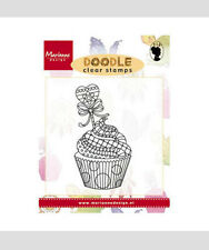 Marianne Design Clear Rubber DOODLE Stamp CUPCAKE EWS2219
