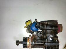 Vintage Ofna Racing 25 C Engine + Parts Rtr Nitro Rc Parts
