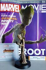MARVEL MOVIE COLLECTION #84 Teenage Groot Figurine EAGLEMOSS englisches Magazin