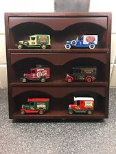Lledo Walkers Crisps Promotional Models X 6 With Display Stand Cabinet