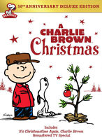 A Charlie Brown Christmas / Its Christmastime Again (Anniversary Deluxe) DVD NEW