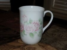 Otagiri  Pink Roses Coffee Mug Raised 3 D Effect Japan