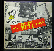 Jay White/Monty Kelly/Los Flamencos For Hi Fi Bugs VG+ Mono Test Record Canada