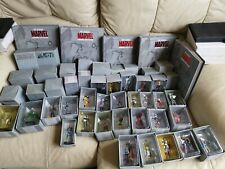 Marvel Eaglemoss Metal 86 Figure Joblot Collection, Specials, Magazines, Plinths