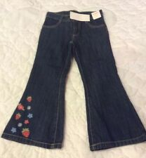 gymboree strawberry Embroidered Jeans Size 4 Outlet