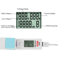 LCD USB Detector Voltmeter Amperemeter Power Capacity Tester Voltage Current Meter J