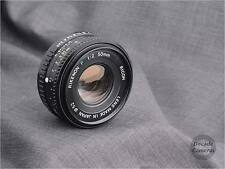 5090 -  Reduced! Pentax K Mount Ricoh Rikenon 50mm f2 Standard Prime Lens