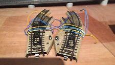 Marklin voie M 5140 paire d'aiguillages électromagnétiques