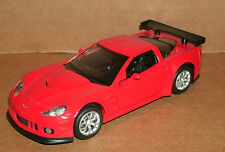 1/36 Scale Chevy Corvette C6-R Model Race Car With Lights And Sound - RMZ City