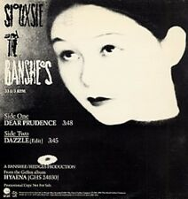 "Siouxsie & The Banshees Dear Prudence, Dazzle (edit) Us Dj 12"""
