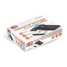 BOX ESTERNO HARD DISK REEKIN ALLUMINIO 2.5 SATA USB 2.0 NERO #18494