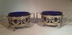 Georg Roth & Company – Antique Salt cellar solid silver pot sterling Hanau