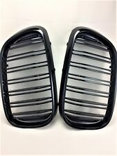FOR 16-17 BMW G11 G12 740Li M4 STYLE PIANO GLOSS BLACK Front Hood Grilles Grille