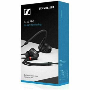 SENNHEISER IE 40 PRO In-Ear Dynamic Monitoring Headphones Lightweight (Black)