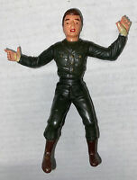 RARE Louis Marx Action Figure Toy Army Man Soldier Posable Free Ship Vintage