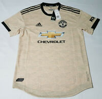 Adidas Size Medium Manchester United Authentic Away Jersey ED7389 2019-2020
