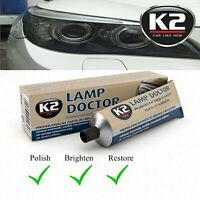 Pro K2 Lamp Doctor Restores & Polish Hazy, Yellowed & Scratched Headlight Lenses