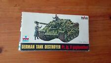 GERMAN TANK  DESTROYER  PZ. JG.V YAGDPANTHER      1/72 SCALE ESCI