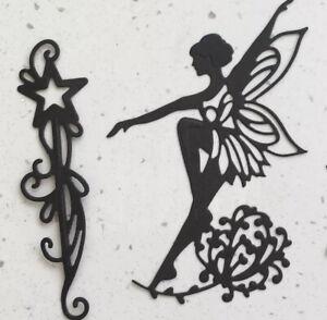 Fairy Pack die cuts toppers fairy jars fairies (1) = 4 Sets