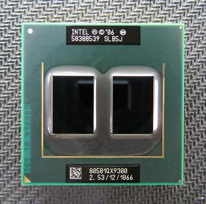 Intel Core 2 Extreme QX9300 Mobile SLB5J 2.53GHz 1066 12MB Laptop Quad-Core CPU