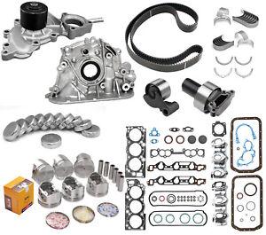 93-95 TOYOTA PICKUP 4RUNNER 3.0L SOHC 3VZE 12V MASTER ENGINE REBUILD KIT