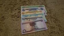 "16,800 Iraqi Dinar ""Rainbow Set"" - 10,000 + 5,000 + 1,000 + 500 + 250 + 50, UNC"